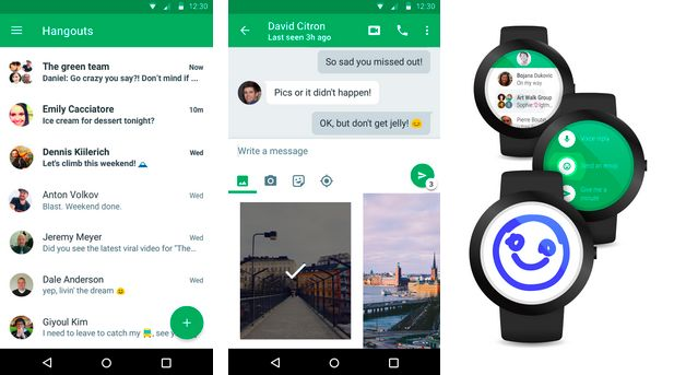 Hangouts 4.0 для Android