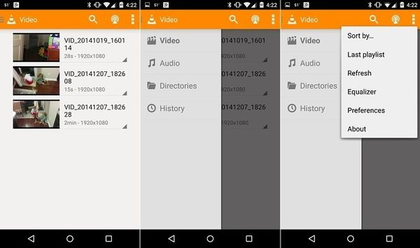 VLC 1.0 для Android